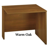 Bush Series C 36 inch Return Bridge  Warm Oak
