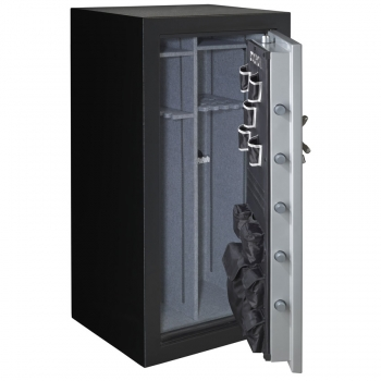 stack on 36 40 gun safe combination lock grey. Black Bedroom Furniture Sets. Home Design Ideas