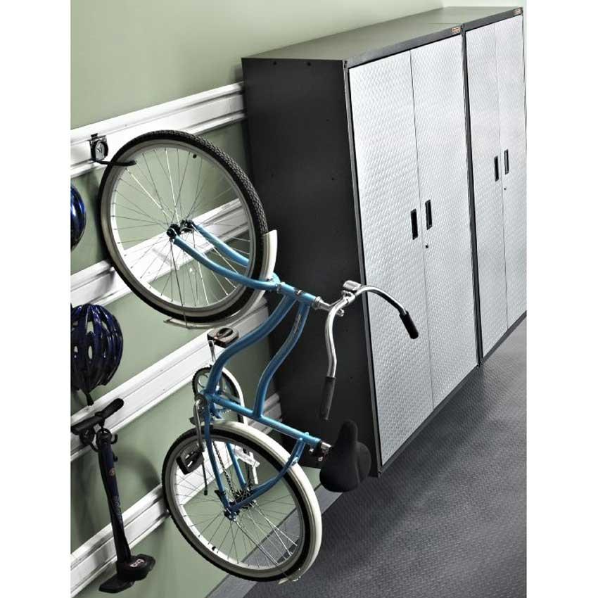 Gladiator Vertical Bike Hook GAWUXXVBRH Garage Storage Direct
