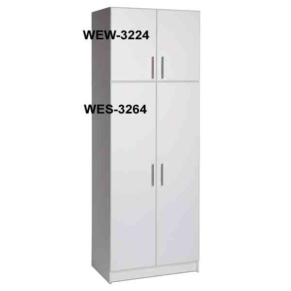 Prepac 32 inch Wide Storage Cabinet WES-3264 at Garage Storage Direct