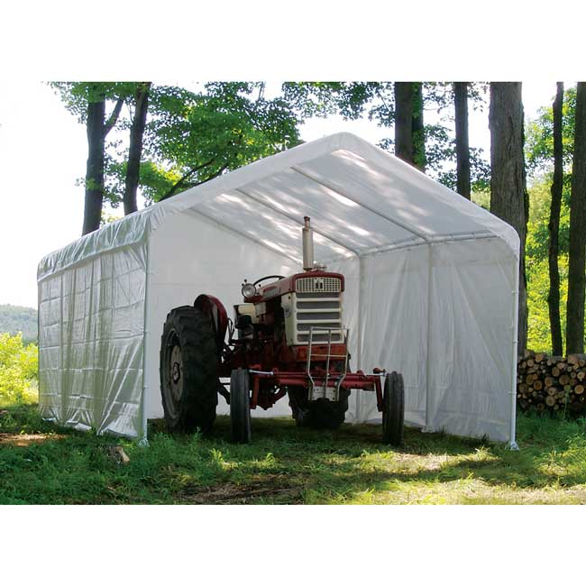 sc 1 st  U-Sav.com & Shelter Logic 25776 Canopy Enclosure Kit 12x26 - Garage Storage Direct