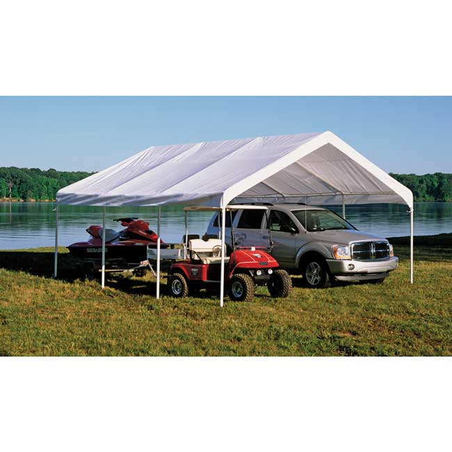 sc 1 st  U-Sav.com & Shelter Logic 26773 Super Max Canopy 18x20 - Garage Storage Direct