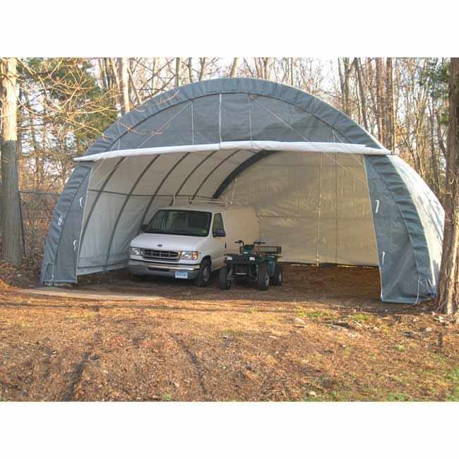 Тент гараж для автомобиля своими руками 18