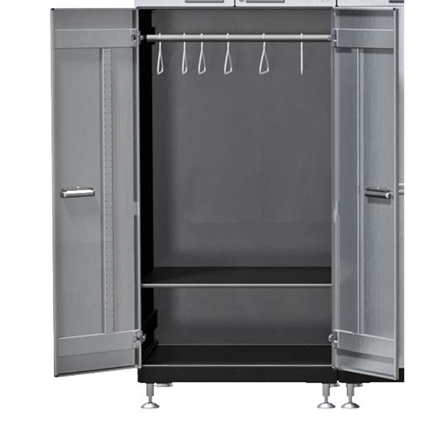 Tall Storage Cabinet Baxton Studio Gisela White And Medium Brown Wood Wide Tall Storage Cabinet