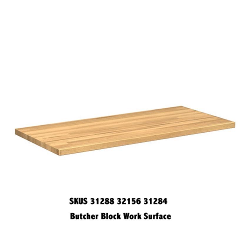 Newage Butcher Block Top 31256 31284 Features Durable