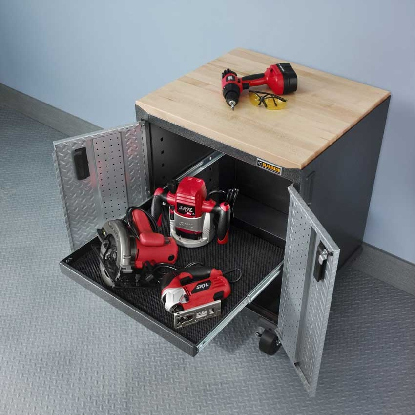Gladiator GAGB28FDYG Full-Door Modular Gearbox - Ready-to-Assemble