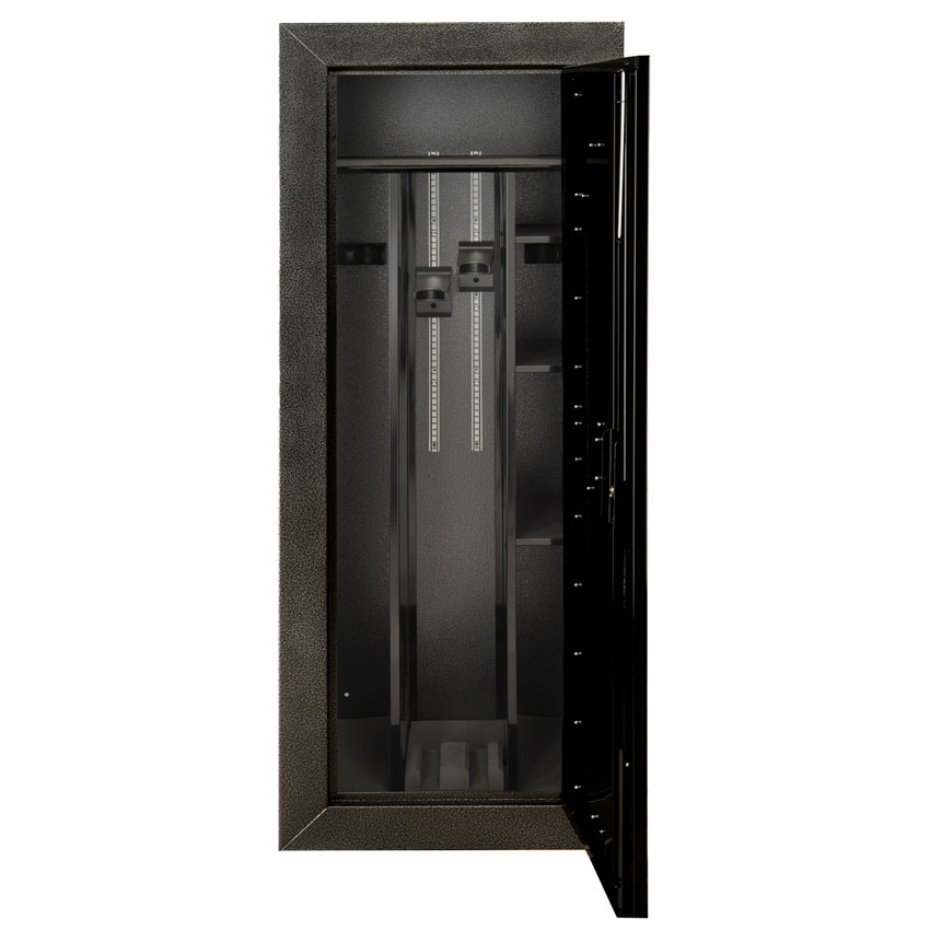 Stack on tactical gun cabinet stack on tactical security for 16 31 gun convertible double door steel security cabinet