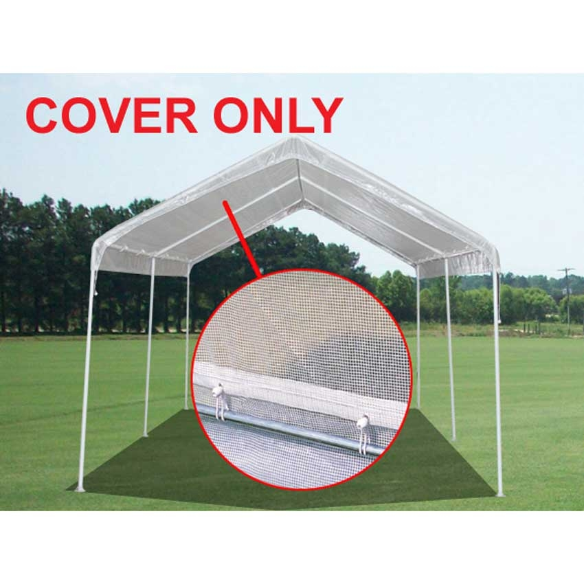 king canopy 10 x 20 replacement cover