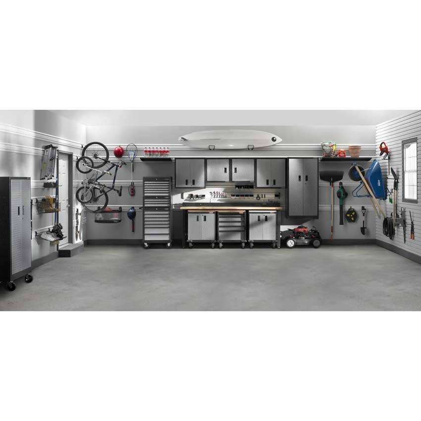 Gladiator 21 Piece Welded Garage Storage Cabinet Set