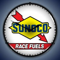 USC Sunoco Race Fuel Lighted Clock
