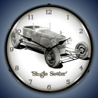 Single Seater Lighted Clock