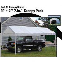 Shelter Logic 2-in-1 Canopy 10x20 w/Enclosure Kit 8-Leg