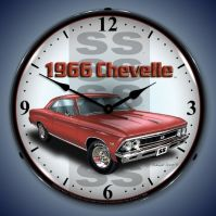 USC 1966 SS Chevelle Lighted Clock