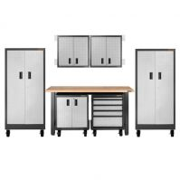 Gladiator Assembled Storage Cabinet Set-9 Pc.