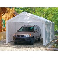 Shelter Logic 10x20 Canopy White Enclosure Kit for 2 in. frame