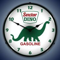 USC Sinclair Dino Lighted Clock