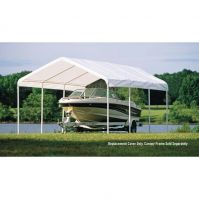 Shelter Logic 12x20 Canopy Replacement Cover for 2 in. frame