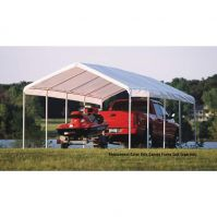 Shelter Logic 12x26 Canopy Replacement Cover