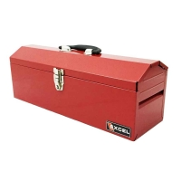 Excel Portable 19 inch Metal Toolbox w/Tray