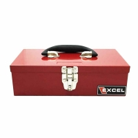 Excel Portable 11.2 inch Metal Toolbox