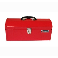 Excel Portable 17 inch Metal Toolbox w/Tray