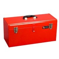 Excel Portable 20 inch Metal Toolbox w/Tray