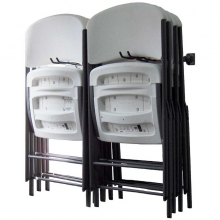 Monkey Bars Small Folding Chair Rack 8