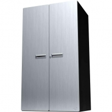 Hercke Stainless Steel 54 inch Tall Storage Cabinet