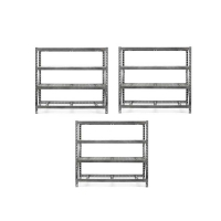 gladiator tool free rack shelving 3 rack pack - Gladiator Shelving