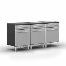 Ulti-MATE Pro 1 Door/1Drawer Base Cabinet Package