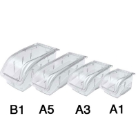 Akro-Mils InSight Plastic Storage Bins, Racks and Hanging Systems