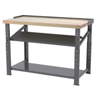 Akro-Mils 60 or 72 in. Industrial Work Benches-Premium Hardwood Top