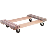 Akro Wood Carpet End Dollies Assembled - Available in 2 Sizes