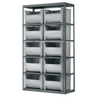 Akro 42 inch Wide Stack-N-Stor System