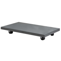 Akro-Mils 16 x 27 in. Solid Deck Steel Dolly - Lips Down