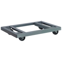 Akro-Mils 18 x 30 in. Open Angle Steel Dolly - Lips Down