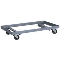 Akro-Mils 24 x 36 in. Open Angle Steel Dolly - Lips Up