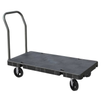 Akro-Mils Versa/Deck Carts w/Mold-On-Rubber Casters