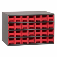 Akro-Mils Steel Storage Cabinet - 28 Drawers