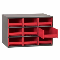 Akro-Mils Steel 9 Drawer Storage Cabinet