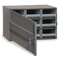 Akro-Mils Steel Security Storage Cabinet - 9 Drawers