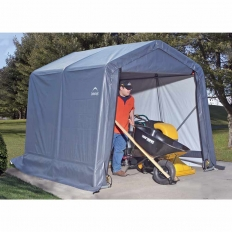 Shelter Logic 8x24x8 Peak Style Shelter