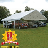 Shelter Logic 30x40 ft. Canopy Replacement Cover for 2-3/8 in. Frame