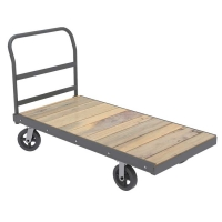 Akro-Mils Super-Heavy-Duty 36 x 72 Platform Trucks w/Wood Deck