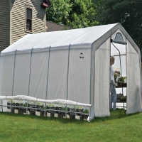 ShelterLogic Heavy Duty Walk-Thru Greenhouse 12.5 x 20 x 8.5 ft