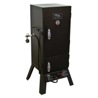 MasterBuilt GS30D Propane Square Smoker 2 Door