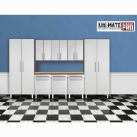 Ulti-MATE Garage PRO 9 Piece Deluxe Cabinet Set