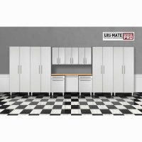 Ulti-MATE Garage PRO 10 Piece Deluxe Cabinet Set