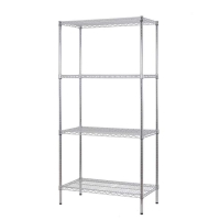 Excel 36 inch Multi Purpose 4 Tier Shelving Unit - 72 inch H