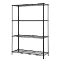 Excel 48 inch Multi Purpose 4 Tier Shelving Unit - 60 inch H